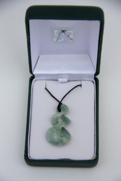 simbolica ketting twist jade