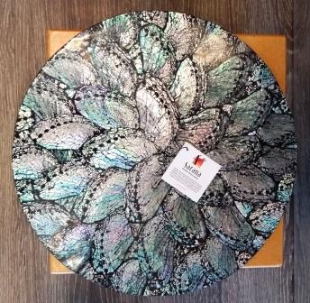 placemat dark shell indonesi
