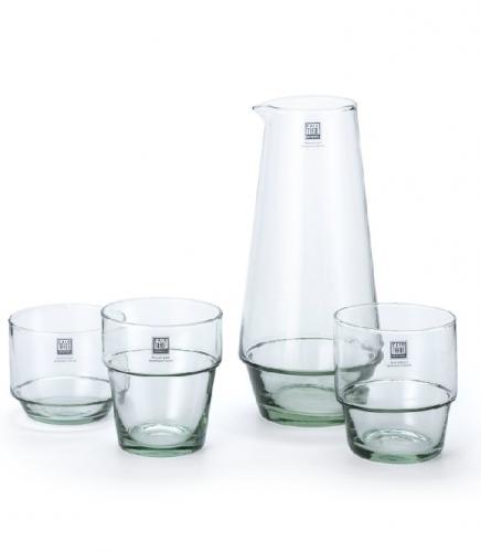 recycled glas karaf glazen campesino