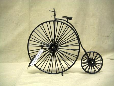 recycled blik fiets historisch