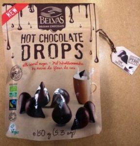 hot chocolate drops