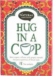 Natural temptation, hug in a cup