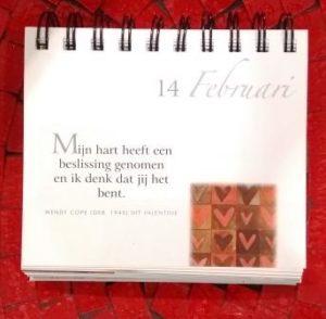 kalender Valentijn