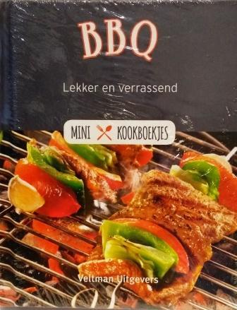 boek BBQ _ mini kookboek